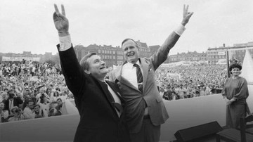 """""""Zmarł Wielki Przyjaciel Polski"""". Politycy o śmierci George'a H.W. Busha"""