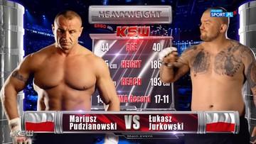 Mariusz Pudzianowski - Łukasz Jurkowski. Skrót walki