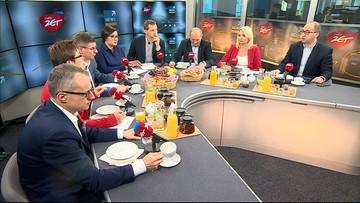 """""""Śniadanie w radiu Zet"""". Opozycja o """"pseudoreformie"""" podatkowej, rządzący radzą poczekać na konkrety"""