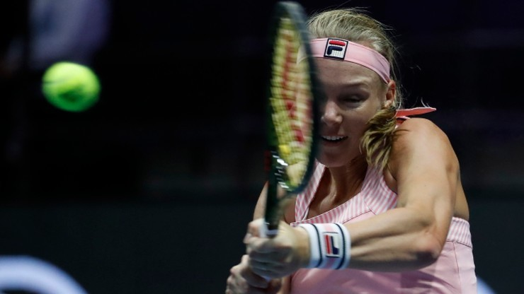 WTA Elite Trophy: Bertens i Sabalenka w finale