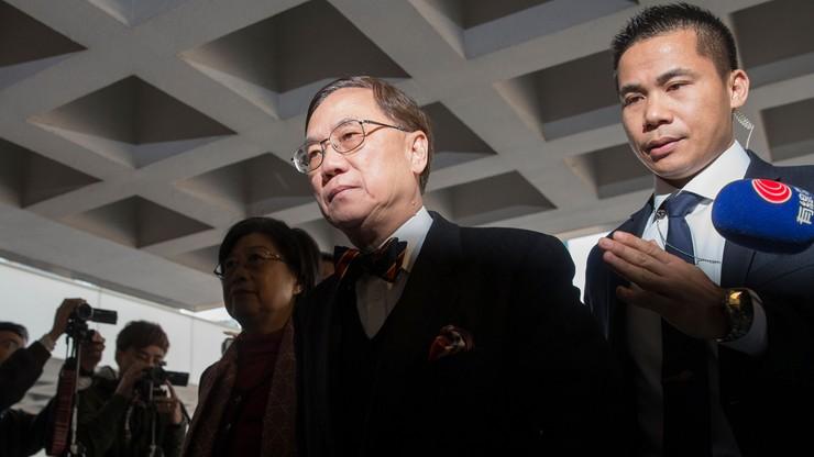 Hongkong: były szef administracji skazany na 20 miesięcy więzienia