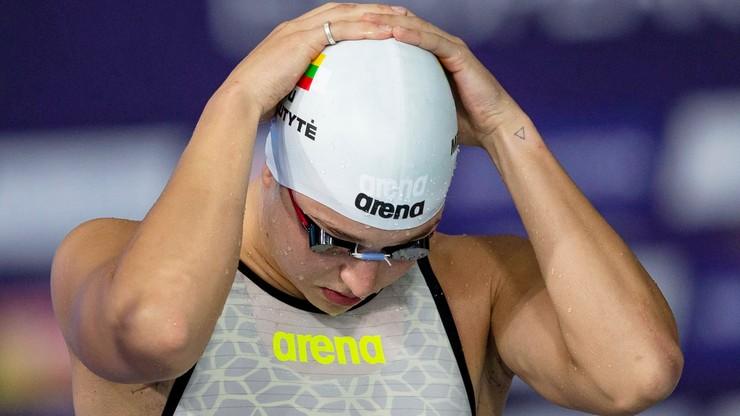 Tokio 2020: Litewska pływaczka może mieć poważne kłopoty