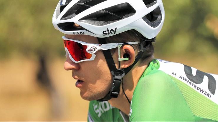 Vuelta a Espana: Wypadek Kwiatkowskiego, Pinot wygrał 15. etap