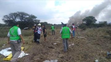 Katastrofa samolotu pasażerskiego w Meksyku. Maszyna rozbiła się tuż po starcie