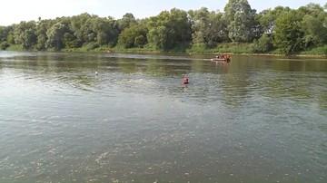 Podkarpacie: 50-latek utonął w rzece San