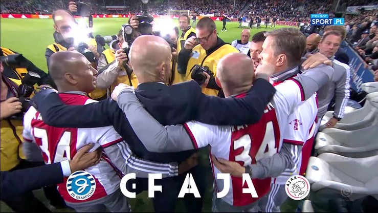 Eredivisie: Ajax mistrzem Holandii! Jak świętowali piłkarze po zakończeniu meczu?