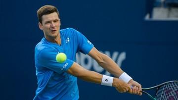 """Ranking ATP: Hubert Hurkacz puka do pierwszej """"dziesiątki"""""""