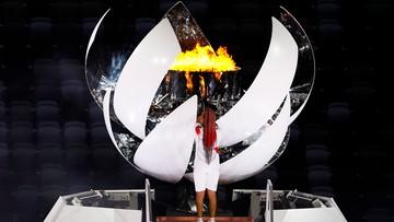 Tokio 2020: Naomi Osaka zapaliła olimpijski znicz
