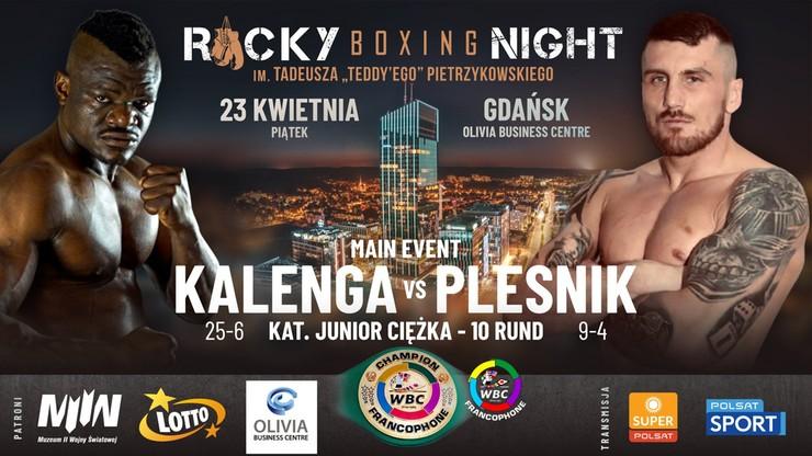 Rocky Boxing Night 8 na żywo