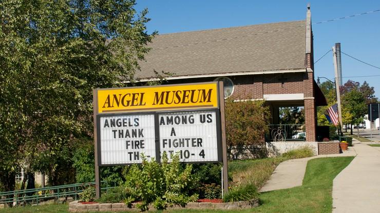 Największe na świecie muzeum aniołów zostanie zamknięte