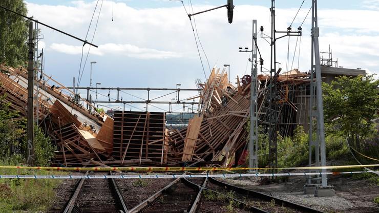 Dziesięciu Polaków rannych w wyniku zawalenia się wiaduktu w Szwecji