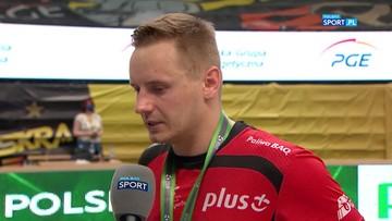 Damian Wojtaszek zdradził, czego najbardziej żałuje po zakończeniu sezonu 2020/2021