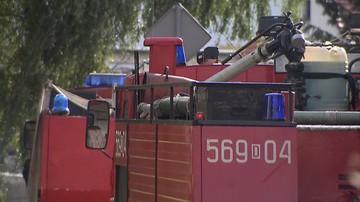 Pożar w kamienicy w centrum Chorzowa. Nie żyje 25-letni mężczyzna