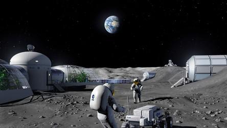 Europa zbuduje na Księżycu system GPS i pierwszą sieć komórkową 4G