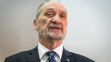 Macierewicz: w polskim społeczeństwie nie ma konfliktu ws. katastrofy smoleńskiej