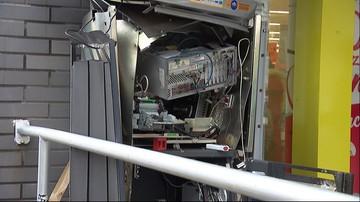 Wysadzili bankomat i uciekli z pieniędzmi. Zuchwała kradzież w Łodzi