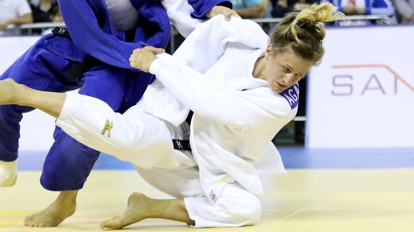 Ozdoba-Błach awansowała do 1/8 finału w judo