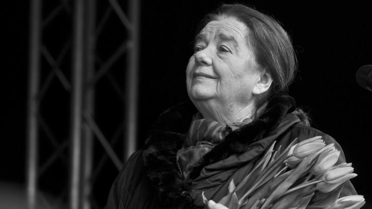 Nie żyje Katarzyna Łaniewska. Aktorka miała 87 lat