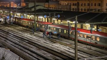 Koronawirus we Włoszech. Utrudnienia w ruchu międzynarodowych pociągów