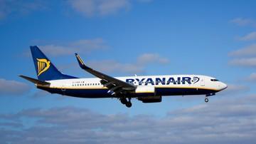 Pilot Ryanaira zemdlał w trakcie podejścia do lądowania