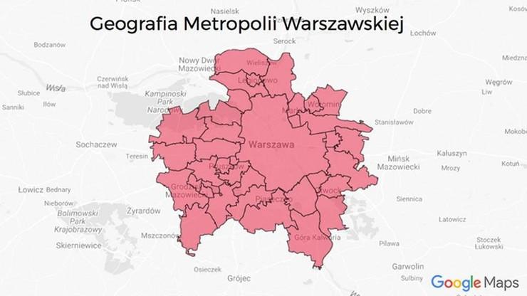 Mieszkańcy są przeciw, a PiS dodaje nowe gminy do projektu metropolii warszawskiej i... odejmuje