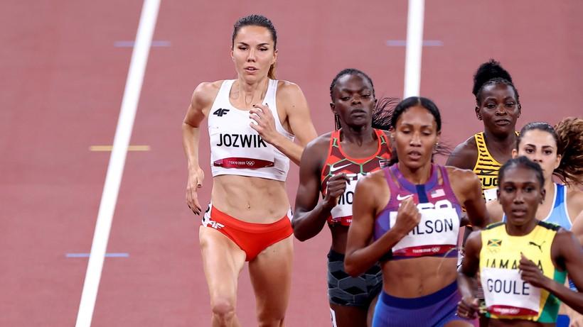 Tokio 2020: Joanna Jóźwik nie awansowała do finału biegu na 800 m