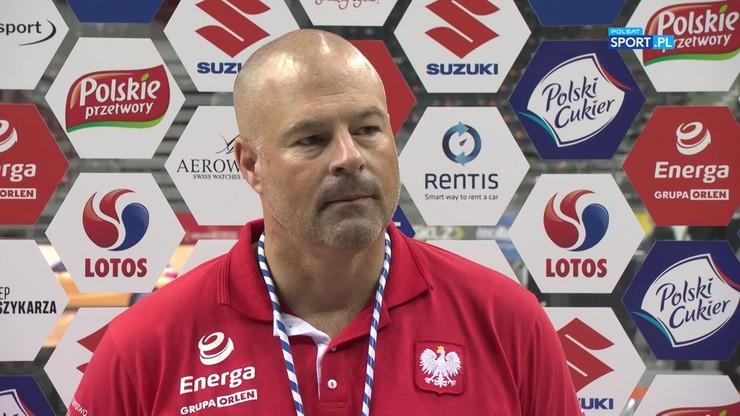 Mike Taylor podsumował mecze reprezentacji Polski w turnieju Energa Cup