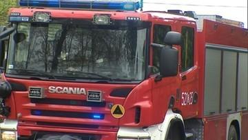 Duży pożar na Śląsku. Ponad stu strażaków walczy z ogniem