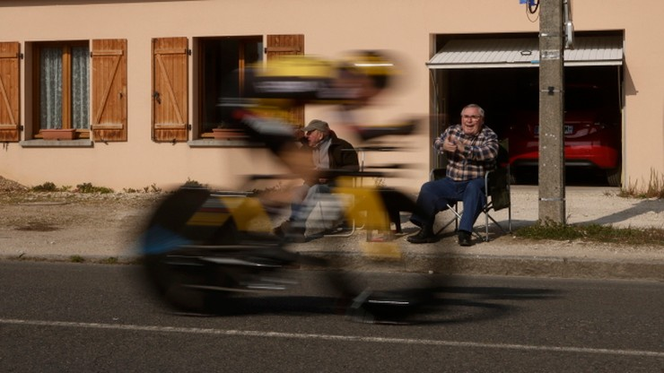 Primoz Roglic wygrał czwarty etap i został liderem wyścigu Paryż-Nicea
