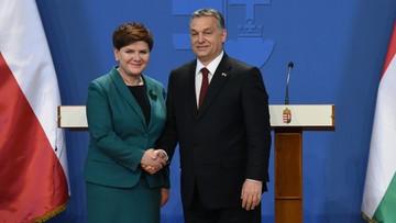 """""""Historyczny sojusz z Polakami"""". Węgierska prasa o wizycie Szydło"""