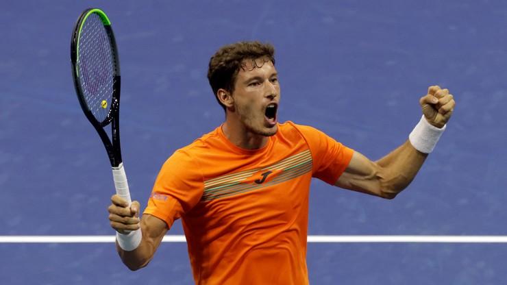 US Open: Pablo Carreno-Busta po raz drugi w najlepszej czwórce