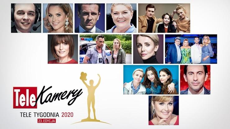 """Telekamery """"Tele Tygodnia"""" 2020. Zobacz nominacje i głosuj"""