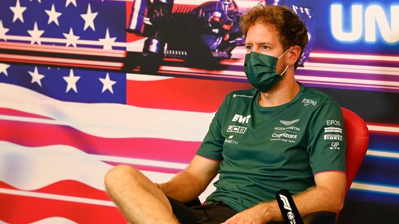 Formuła 1: Vettel ukarany za wymianę silnika przed GP USA