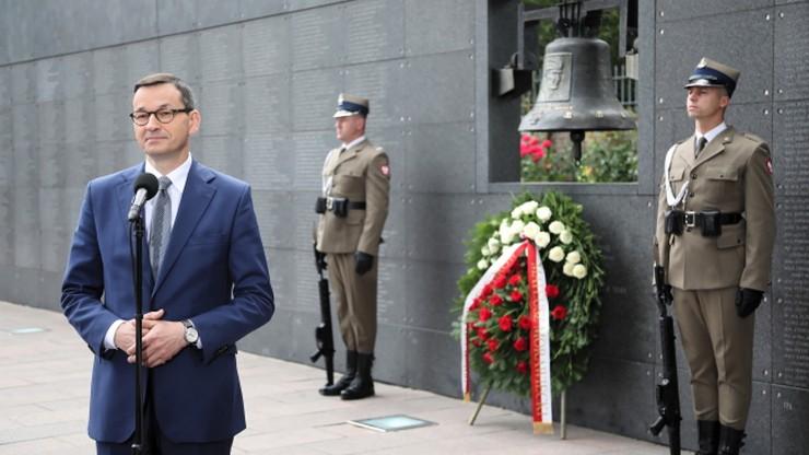 Premier: Powstanie miało przywrócić wolność umęczonej stolicy i całej Polsce