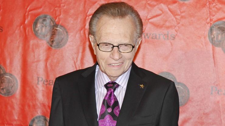 Larry King w szpitalu. Choruje na COVID-19