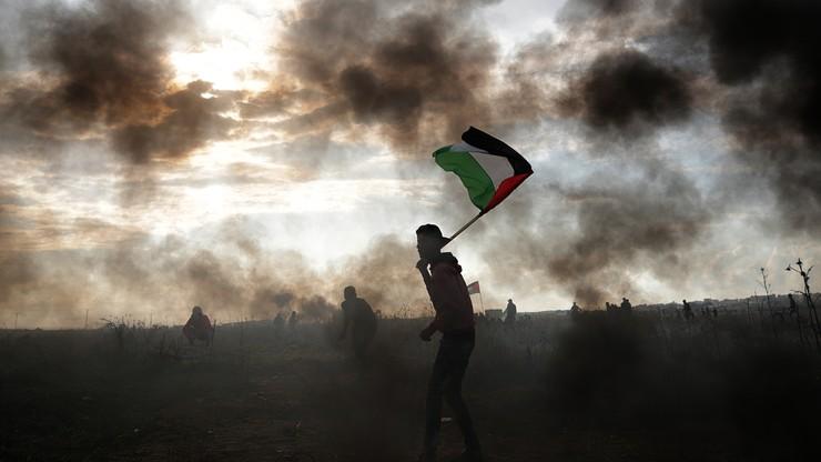 Izraelskie lotnictwo zaatakowało cele Hamasu w Strefie Gazy