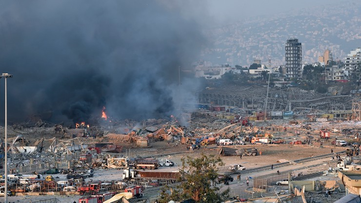 Wiceszef MSZ: brak wiadomości, by polscy obywatele ucierpieli na skutek eksplozji w Bejrucie