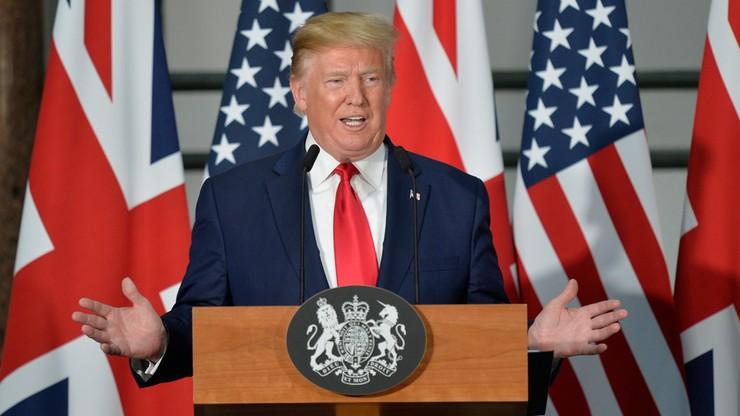 Trump odszedł od protokołu. W Wielkiej Brytanii rozmawiał o następcy premier May i brexicie