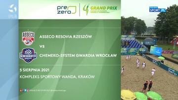 Asseco Resovia – Chemeko-System Gwardia Wrocław 2:0. Skrót meczu