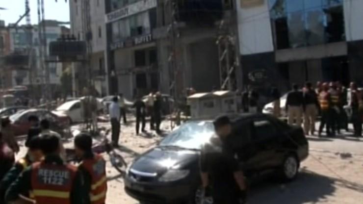 Pięć osób zginęło w wybuchu bomby w Lahaurze