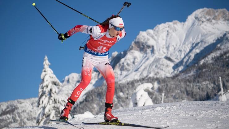 PŚ w biathlonie: Pierwsza wygrana Austriaczki. Hojnisz-Staręga najlepsza z Polek
