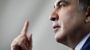 """Micheil Saakaszwili jest już w Holandii. Stamtąd chce """"kontynuować walkę"""""""