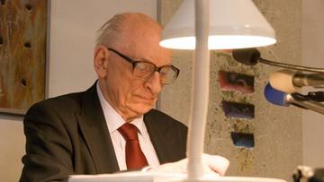 KOD: prof. Władysław Bartoszewski patronem Komitetu