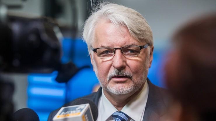 Szef MSZ: Tusk nie powinien być brany pod uwagę w wyborze szefa RE