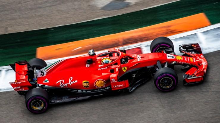 GP Rosji: Vettel i Hamilton najszybsi na piątkowych treningach