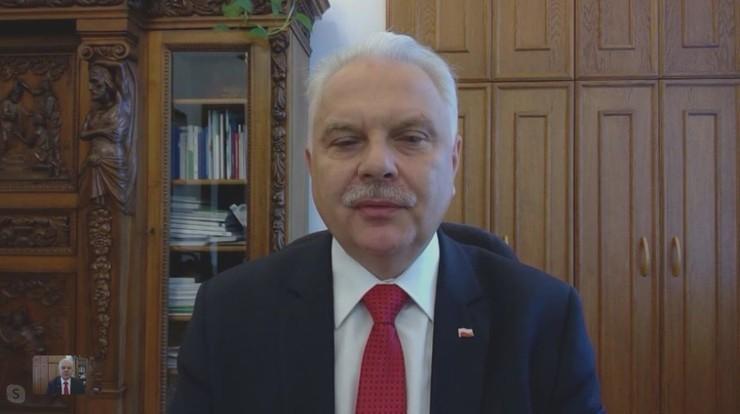 Kraska: planujemy jeszcze jeden szpital tymczasowy w Warszawie