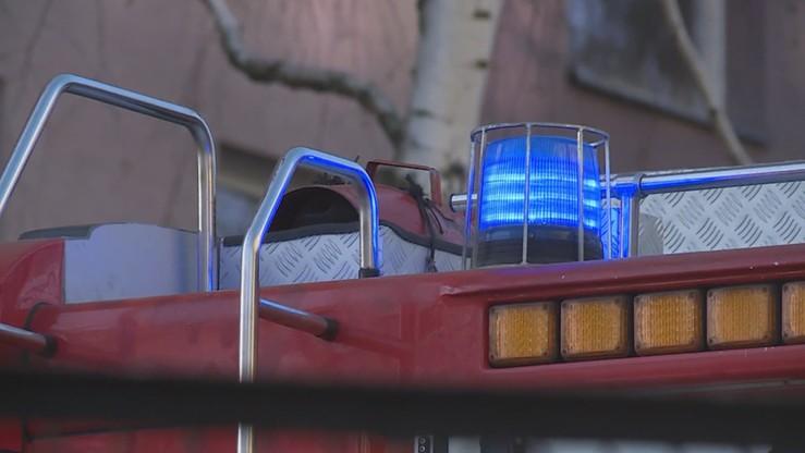 Łódź: dwa pożary w ciągu kilku godzin. Zginął mężczyzna