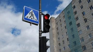 """Pierwsze przejścia dla pieszych wyposażone w czujniki aplikacji """"Rozejrzyj się i żyj"""""""