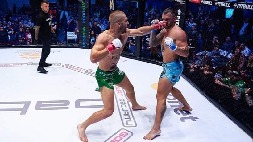 Łukasz Sudolski bez kontraktu z UFC. Polak przegrał przez nokaut w pierwszej rundzie na Dana White's Contender Series