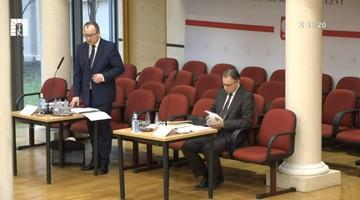Trybunał Konstytucyjny wysłuchał Bodnara ws. kadencji RPO. Rozprawa odroczona